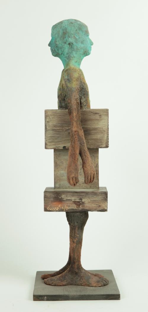 Dos caminos  Escultura de Jesús Curiá   Compra arte en Flecha.es
