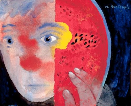 Aventuras para el ojo (3) |Pintura de El Hortelano | Compra arte en Flecha.es