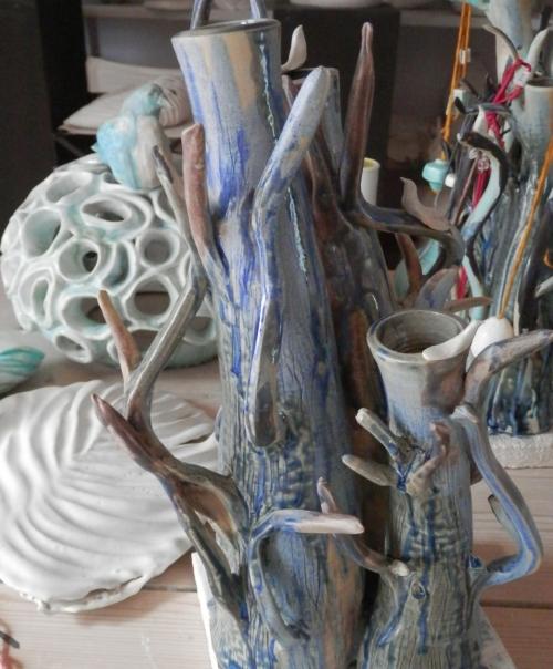 Troncos |Escultura de Carmen Vila | Compra arte en Flecha.es