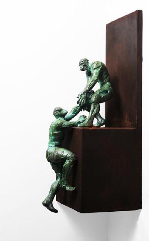 Salvado |Escultura de Fernando Suárez | Compra arte en Flecha.es