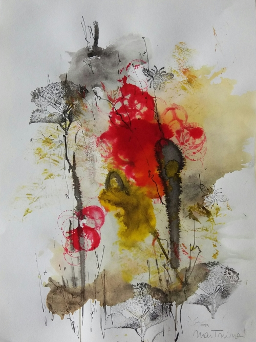Tintas de Otoño nº4 |Dibujo de Martmina | Compra arte en Flecha.es