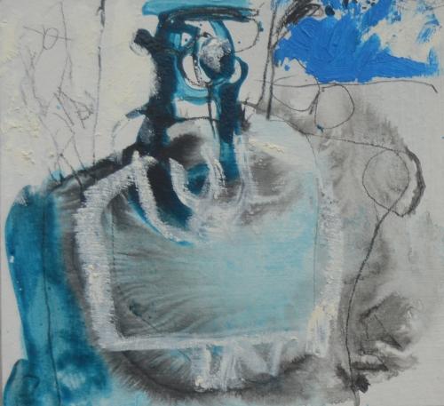 El Señor y la Señora Andrews (cartón VIII) |Pintura de Celia Muñoz | Compra arte en Flecha.es