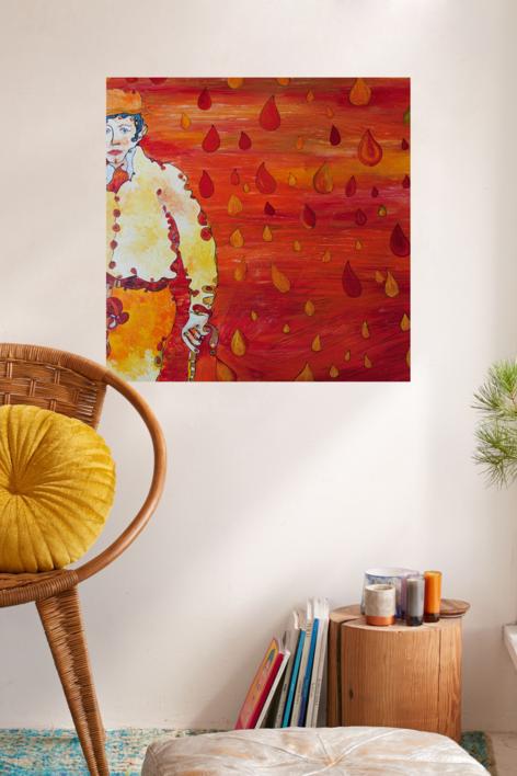 Autoretrato | Pintura de RICHARD MARTIN | Compra arte en Flecha.es