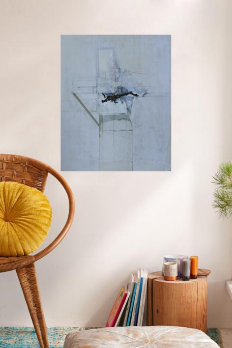 El mito de Mu. | Collage de Alejandro Jaqs | Compra arte en Flecha.es