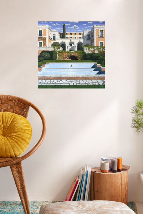 Casa de Velázquez | Pintura de Javier Ramos Julián | Compra arte en Flecha.es