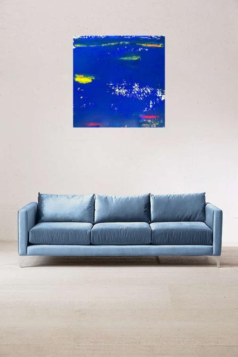 Ras43-Azul día | Collage de Jorge Font | Compra arte en Flecha.es