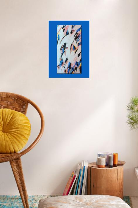Catch The Wind | Pintura de Rocío Cervera | Compra arte en Flecha.es