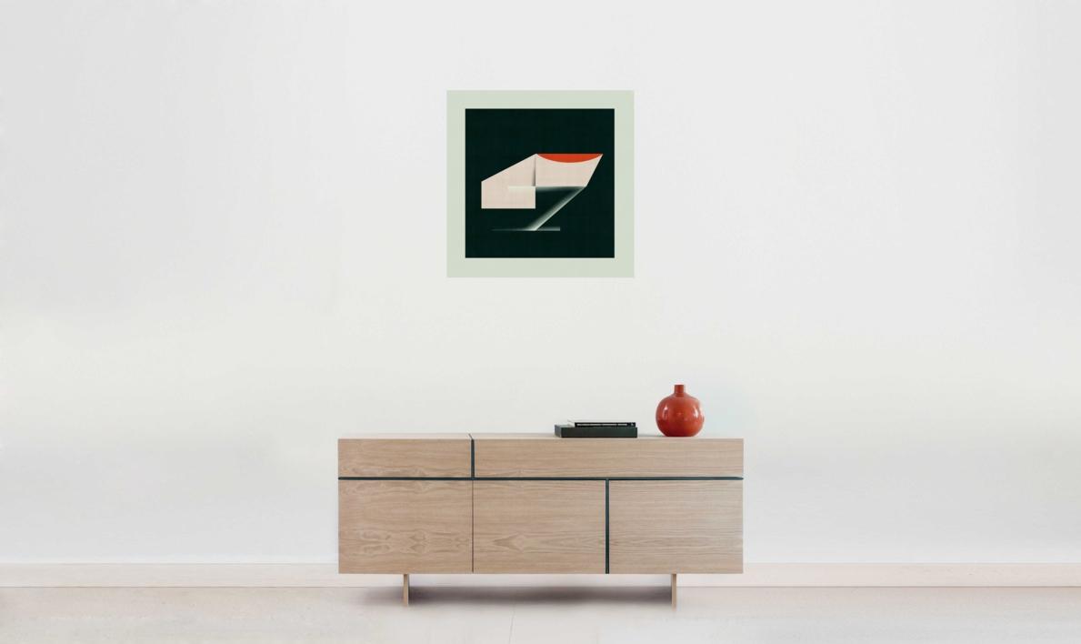 Abstract composition 924 | Digital de Jesús Perea | Compra arte en Flecha.es