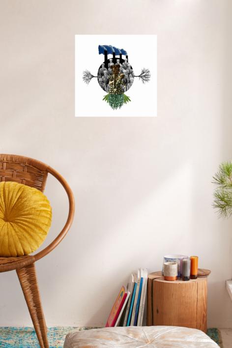 Agujero negro nº 20 | Collage de Gabriel Aranguren | Compra arte en Flecha.es