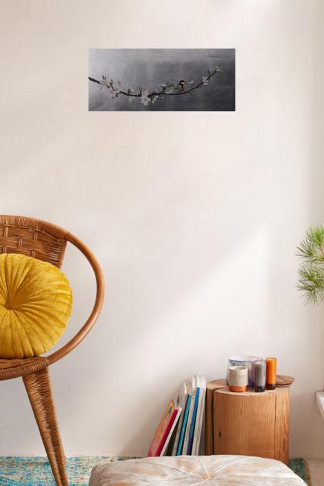 Almendro en flor III | Pintura de Charlotte Adde | Compra arte en Flecha.es