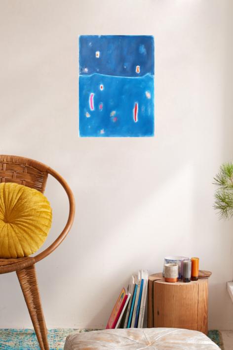 Sky | Pintura de Luis Medina | Compra arte en Flecha.es