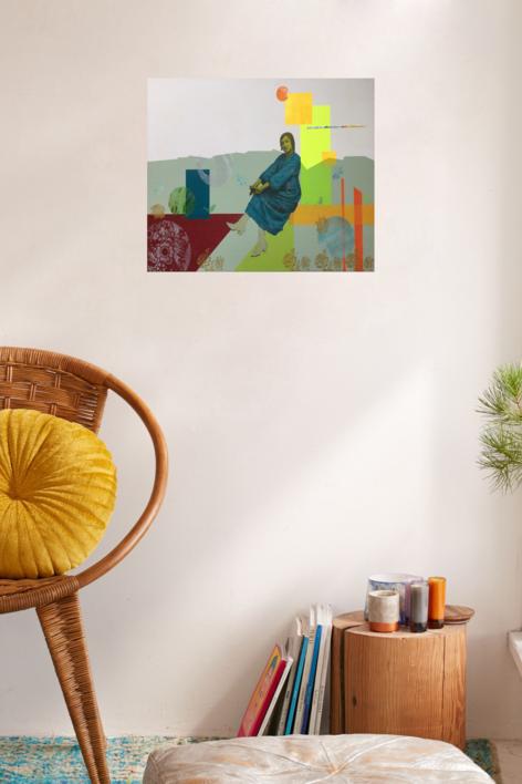 Josefina | Collage de Olga Moreno Maza | Compra arte en Flecha.es