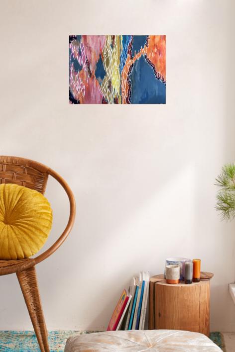 COLOR FIELDS   Pintura de Iraide Garitaonandia   Compra arte en Flecha.es