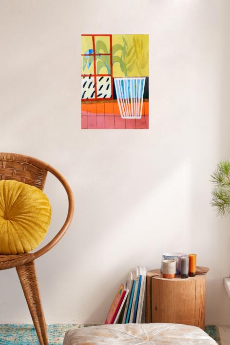 Kítrino Foínika | Pintura de Ana Cano Brookbank | Compra arte en Flecha.es