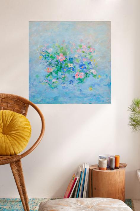 En la primavera | Pintura de Guillermo Serrano de Entrambasaguas | Compra arte en Flecha.es