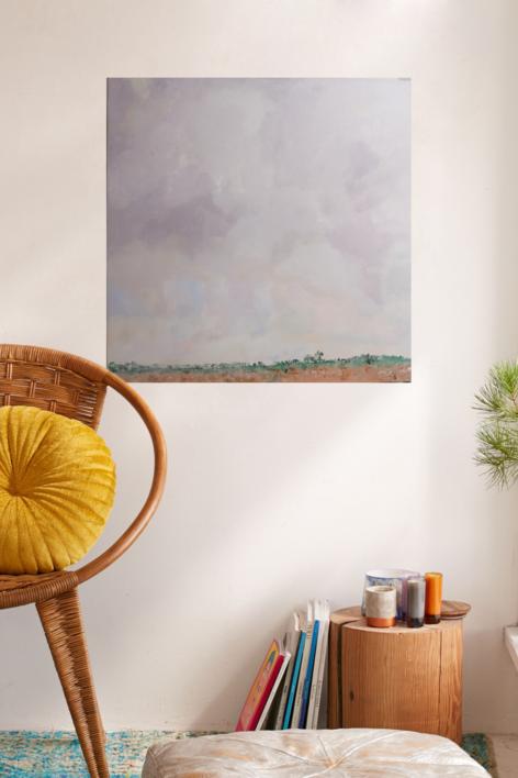 Matí de boira | Pintura de Tines | Compra arte en Flecha.es