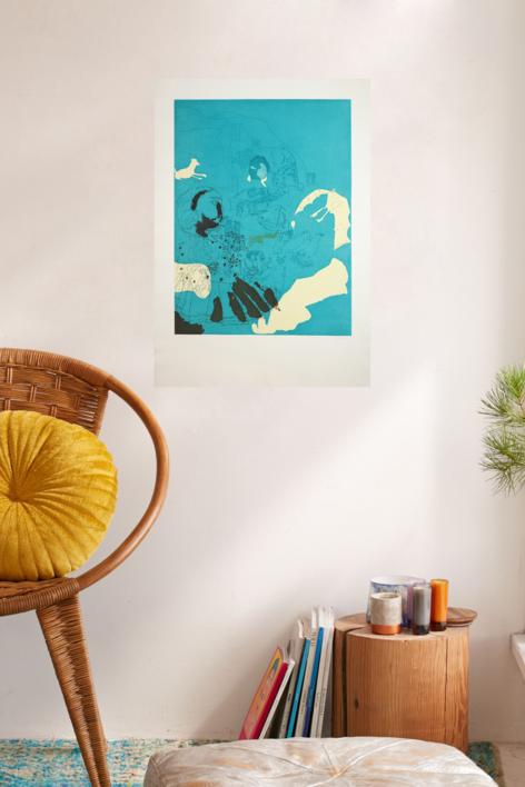 Marienza | Obra gráfica de Jorge Castillo | Compra arte en Flecha.es