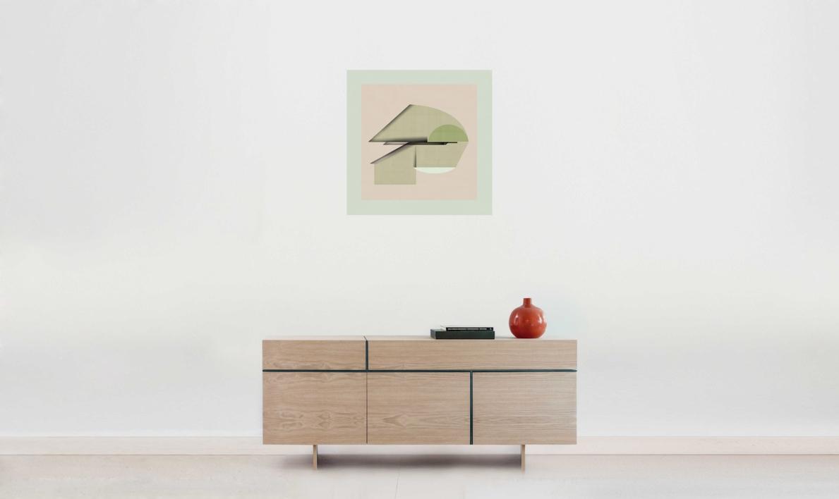 Abstract composition 925 | Digital de Jesús Perea | Compra arte en Flecha.es