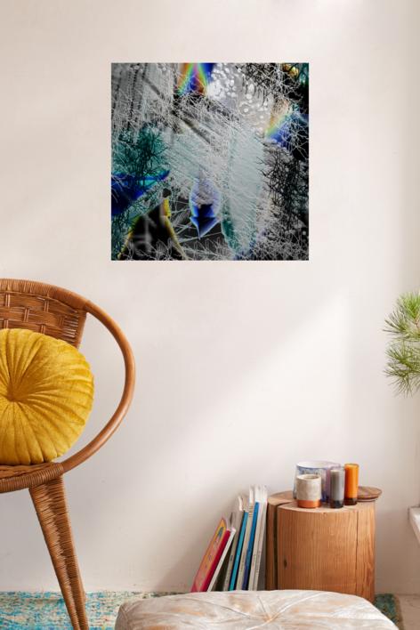 PAISAJE HÚMEDO Nº 14 | Digital de rocamseo | Compra arte en Flecha.es
