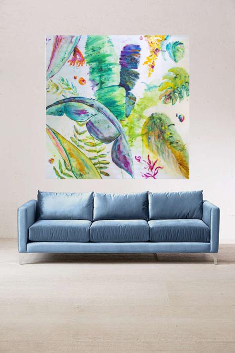 Tropic | Obra gráfica de Misterpiro | Compra arte en Flecha.es