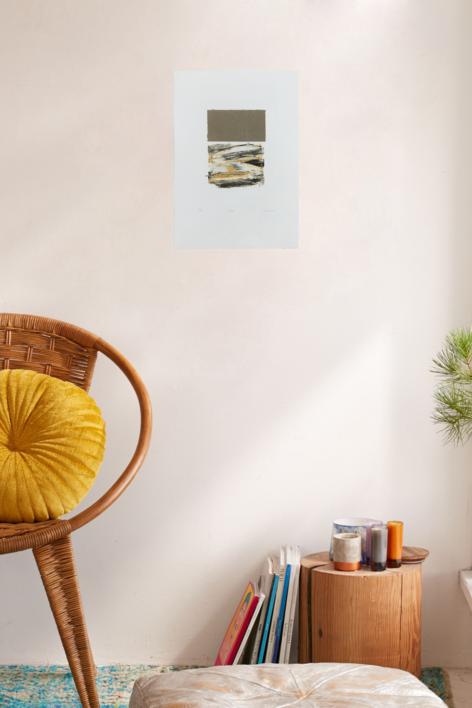 Talismán | Collage de Rafael Canogar | Compra arte en Flecha.es
