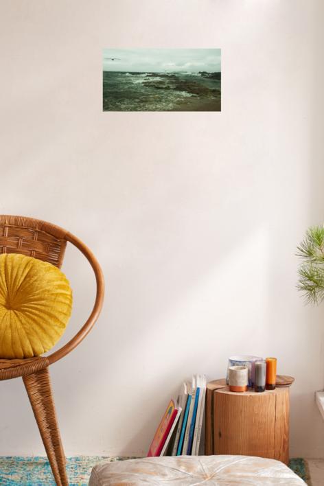 GAVIOTAS EN VUELO (de la serie Islas Cies. Foto nº 18) | Fotografía de Luis Arbex | Compra arte en Flecha.es