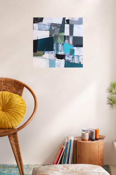 W-2 | Collage de Erika Nolte | Compra arte en Flecha.es