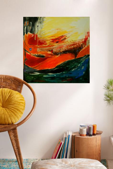 EL DESEO | Pintura de Lika | Compra arte en Flecha.es