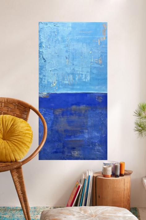Cielos y Mares III | Pintura de Agnès Rodon | Compra arte en Flecha.es