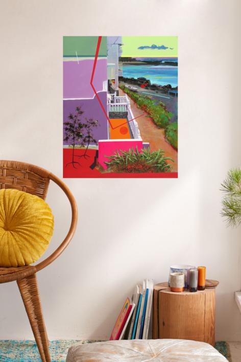 Paisaje Re-leido Nº 3 | Pintura de Benito Salmerón | Compra arte en Flecha.es