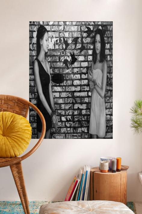 El muro | Dibujo de Jose Díaz Ruano | Compra arte en Flecha.es