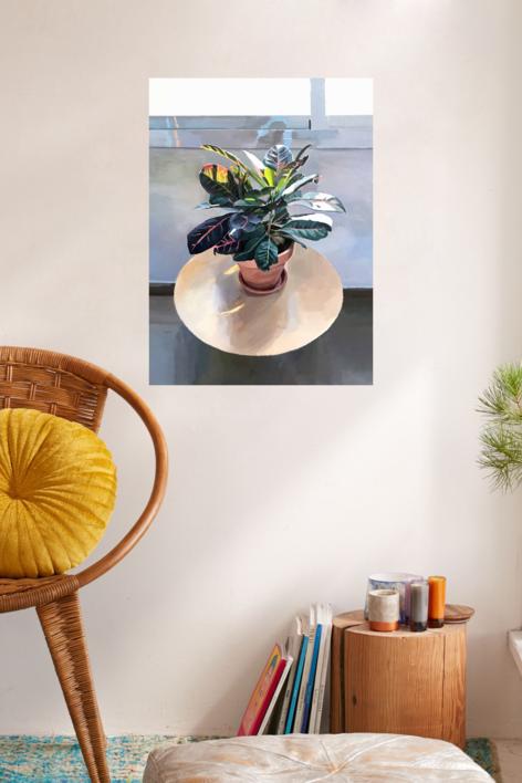 Interior Día | Pintura de Antonio Barahona | Compra arte en Flecha.es