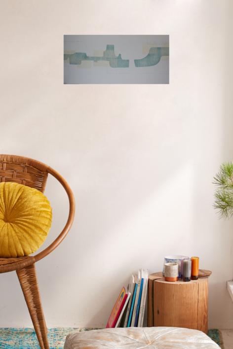 En dos pasos | Obra gráfica de Cruz Sánchez | Compra arte en Flecha.es