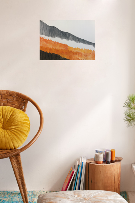 Otoño   Pintura de Milena Mateva   Compra arte en Flecha.es