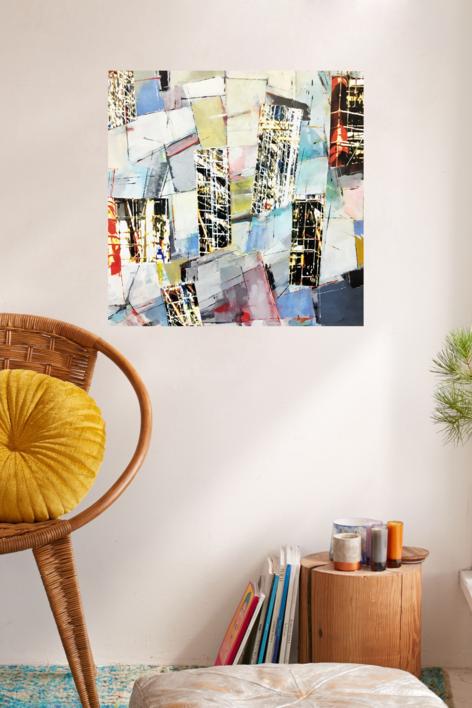 W-3 | Collage de Erika Nolte | Compra arte en Flecha.es
