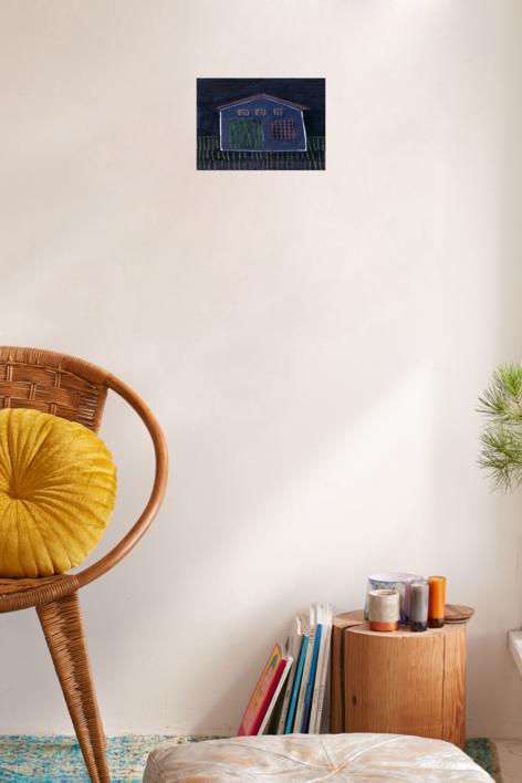 Polski Dom | Collage de Ana Cano Brookbank | Compra arte en Flecha.es