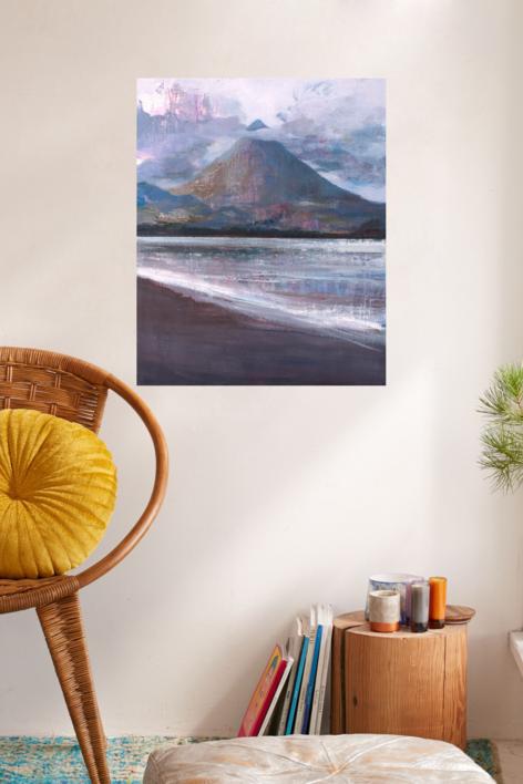 Volcan | Pintura de Carmen Montero | Compra arte en Flecha.es