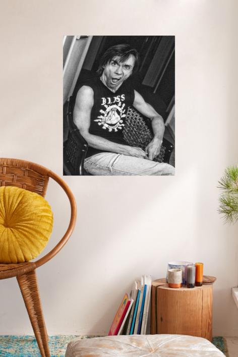 Iggy Pop | Fotografía de Domingo J. Casas | Compra arte en Flecha.es