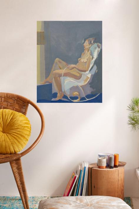 Academia, 2019 | Pintura de Ignacio Mateos | Compra arte en Flecha.es
