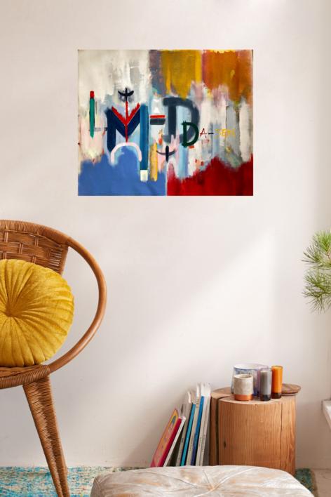 DA-SEIN IX   Pintura de Iraide Garitaonandia   Compra arte en Flecha.es