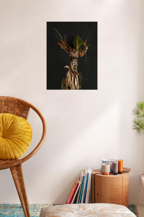 S.t., Serie Papúa Nueva Guinea   Fotografía de Isabel Muñoz   Compra arte en Flecha.es