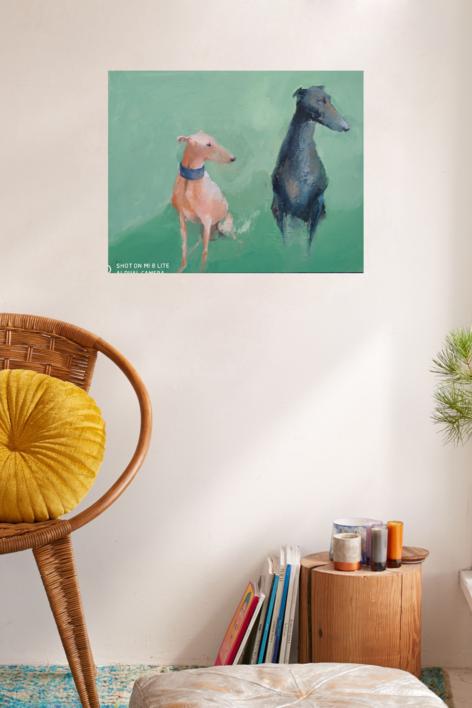 El deseo de las 08.00 a.m | Pintura de Pilar Álvarez | Compra arte en Flecha.es