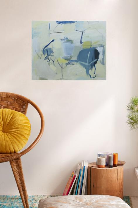 Huset | Pintura de Eduardo Vega de Seoane | Compra arte en Flecha.es