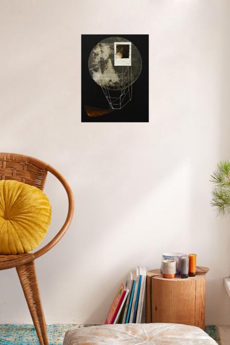 Construcciones espirituales 9 | Collage de Txabi Sagarzazu | Compra arte en Flecha.es