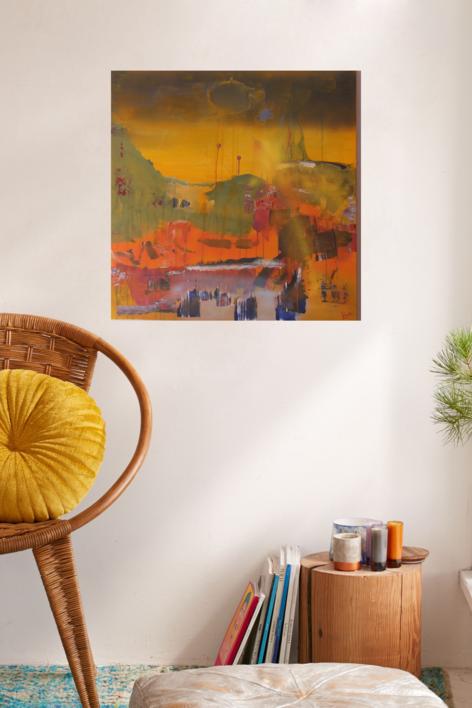 FIRA | Pintura de Tines | Compra arte en Flecha.es