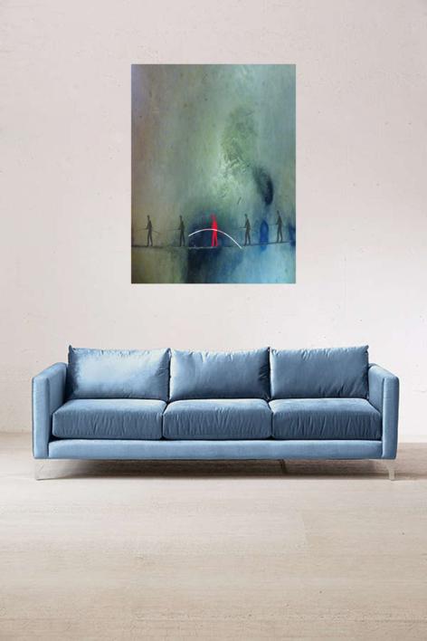 El funambulista | Digital de Albarran | Compra arte en Flecha.es