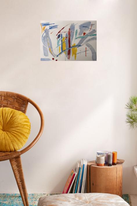 THE DOOR II | Pintura de Iraide Garitaonandia | Compra arte en Flecha.es