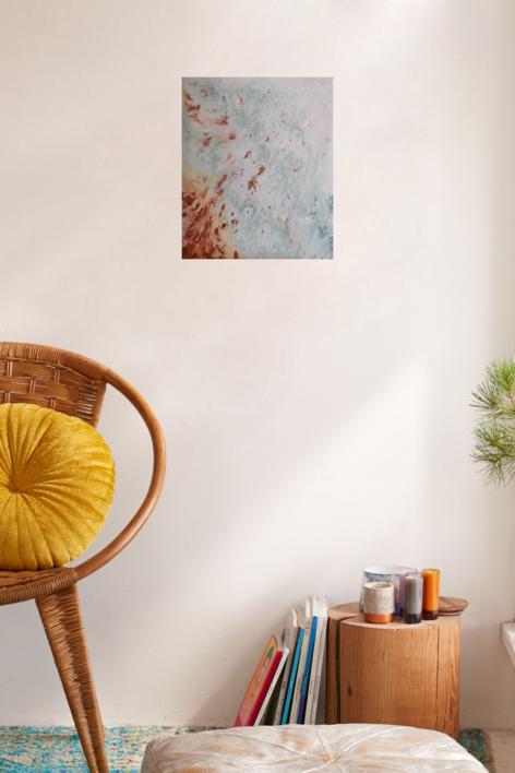 CM [tierras] XIX   Pintura de Elisa de la Torre   Compra arte en Flecha.es