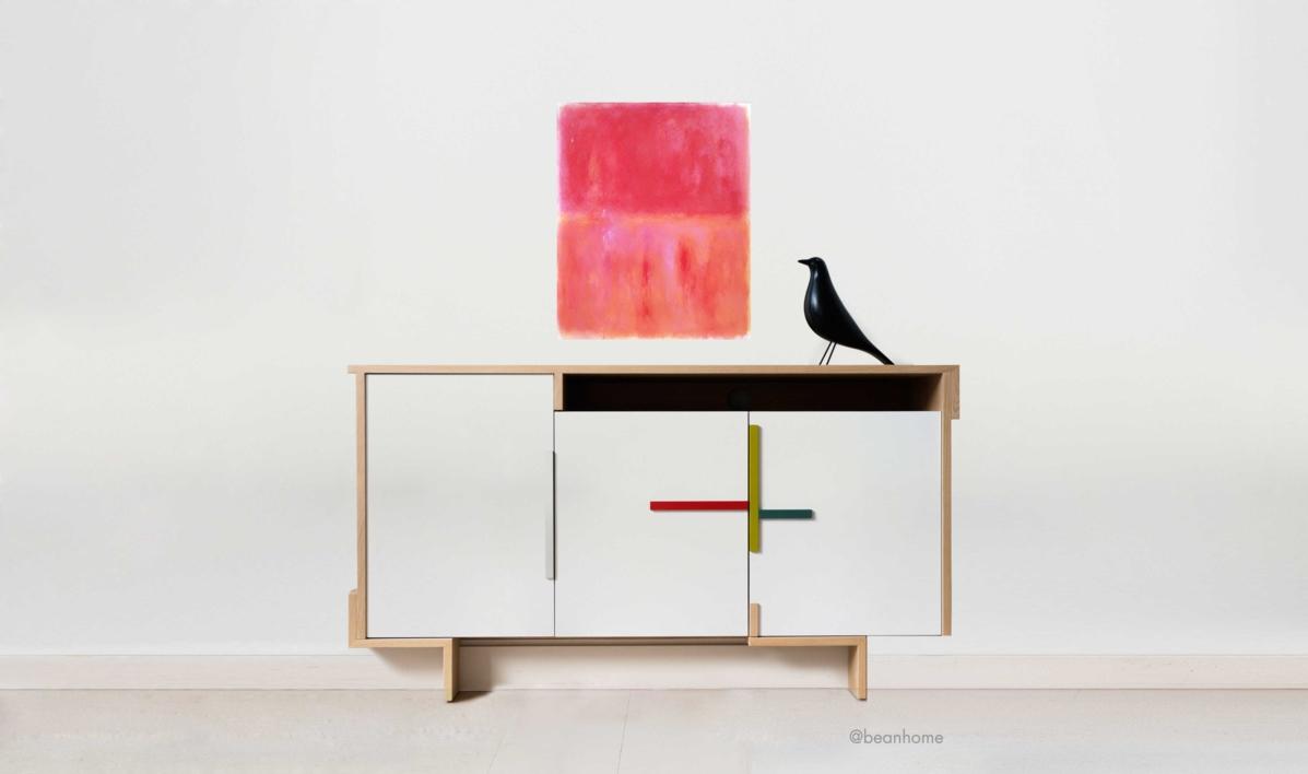 Composition D | Pintura de Luis Medina | Compra arte en Flecha.es
