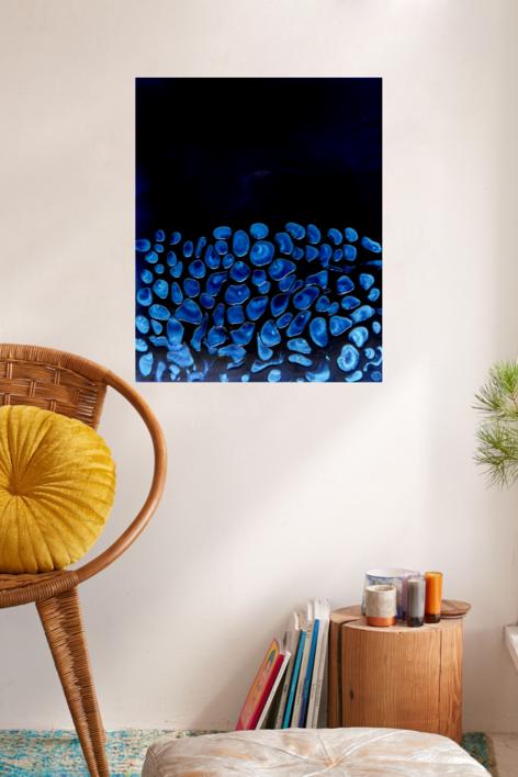 Perlas de mar 1 | Pintura de Yanespaintings | Compra arte en Flecha.es